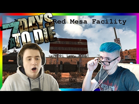 RED MESA FACILITY! [HODINOVÝ SPECIÁL] - 7 Days to Die /w Baxtrix #37
