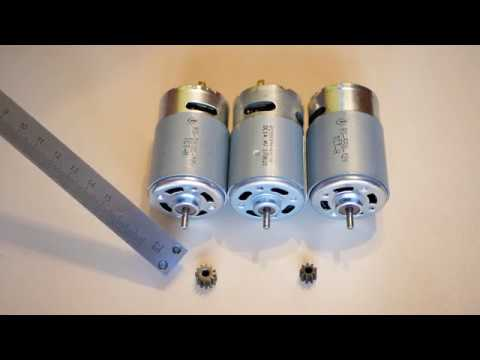 Как подобрать двигатель для аккумуляторного шуруповерта?
