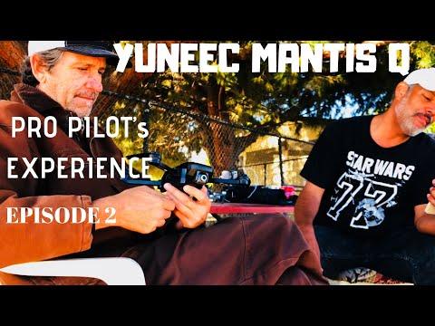 YUNEEC MANTIS Q VS DJI DRONE PILOTS REVIEW