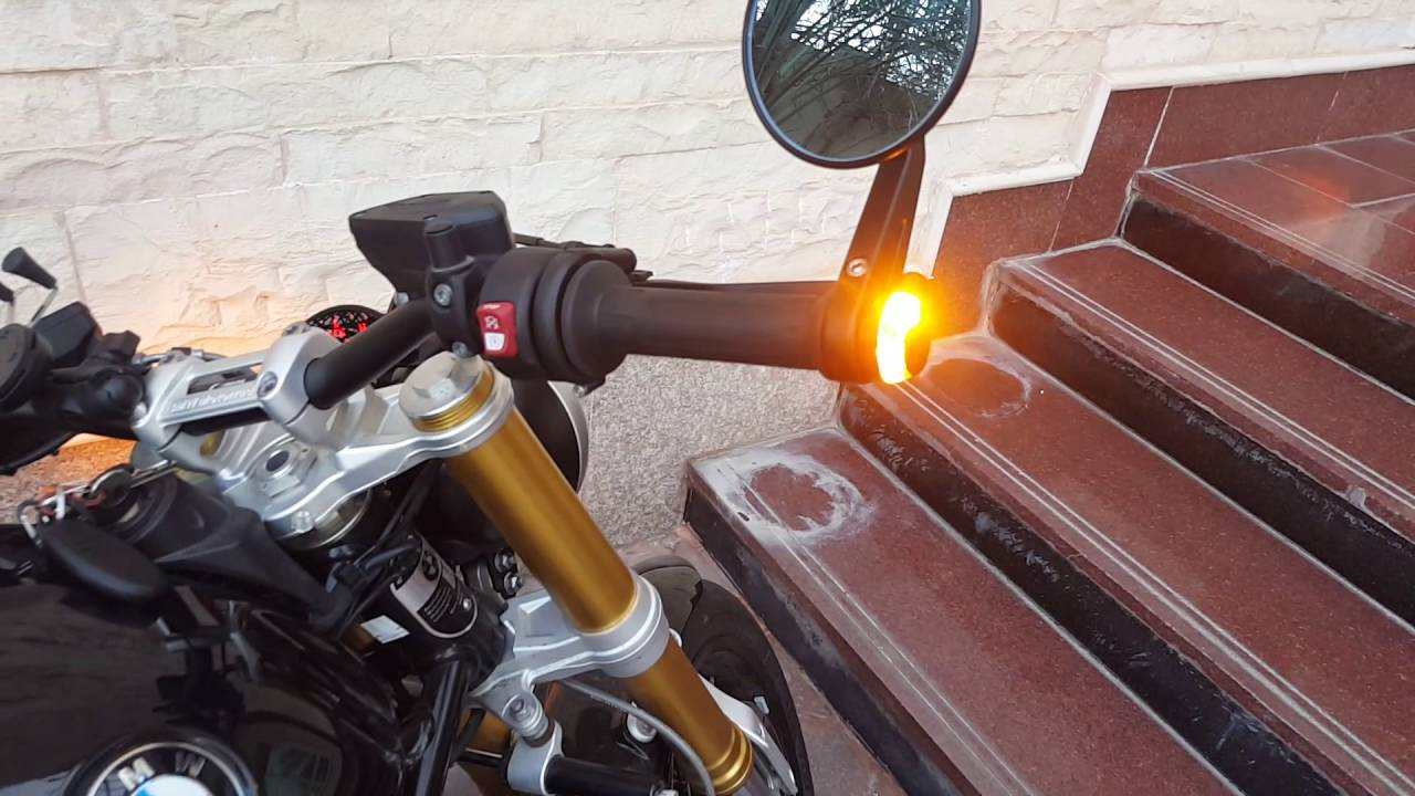 Bmw R Ninet Rizoma Motogadget Motoscope M Blaze Youtube