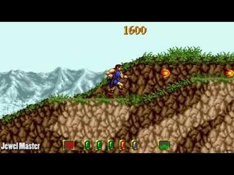 Jewel Master / auto demo / Sega Megadrive Genesis 1991
