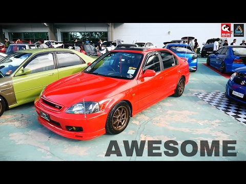 Honda Civic EK Ferio Superb Clean - Borneo Kustom Show 2017