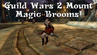 Guild Wars 2 - Magic Broom! We Have A Mount!... Sort Of. Also Quaggans!