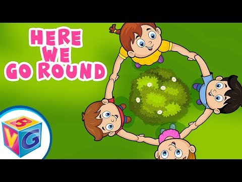 Here We Go Round The Mulberry Bush - Animation Nursery Rhymes