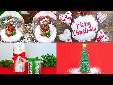 4 DIY Christmas decorations perfect for breathing the magic of Christmas at home