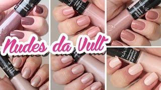 Esmaltes Nudes da Vult #VICIOTODODIA 17