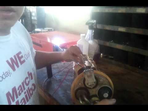 Hot wire fuel pump