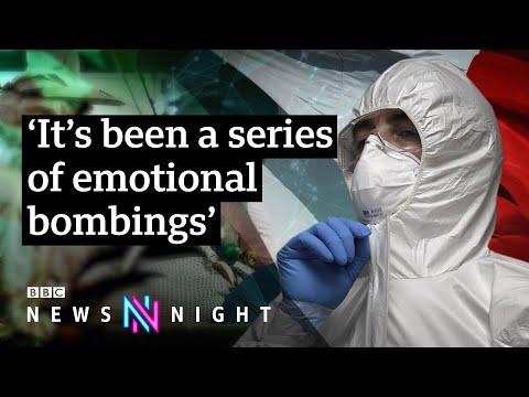Coronavirus: Inside Europe's ground zero intensive care unit - BBC Newsnight