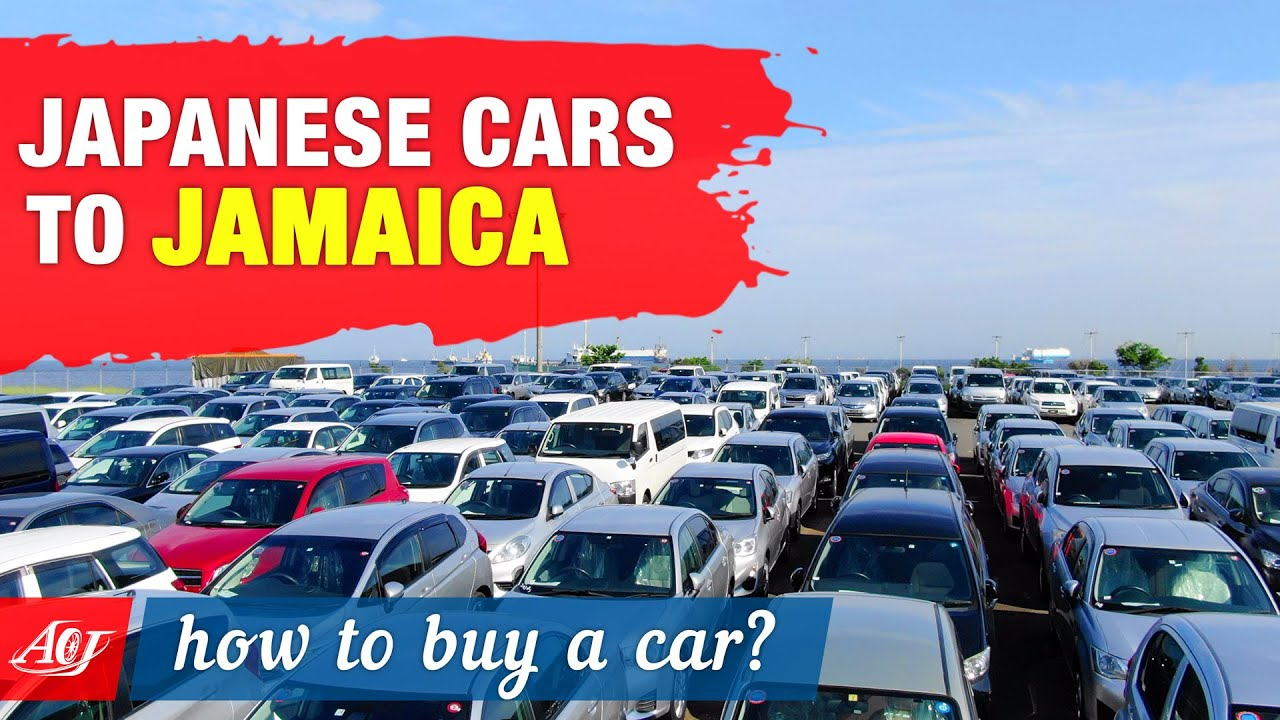 How To Import Cars From Japan To Jamaica Youtube