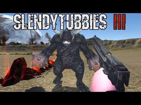ZEOWORKS PLAYING AS THE MINI BOSSES VS ME  SLENDYTUBBIES 3 - TESTING THE LATEST BUILD