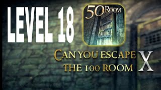 Can You Escape The 100 room X level 18 Walkthrough