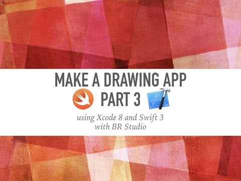 Drawing Lines Xcode : Make a drawing app part xcode ios youtube