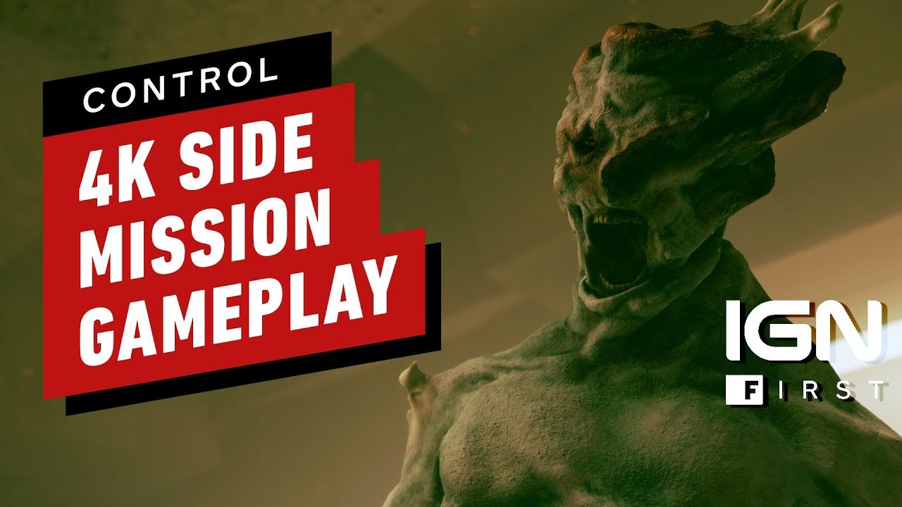 Kontrolle: Full Side Mission Gameplay (4K) - IGN zuerst + video