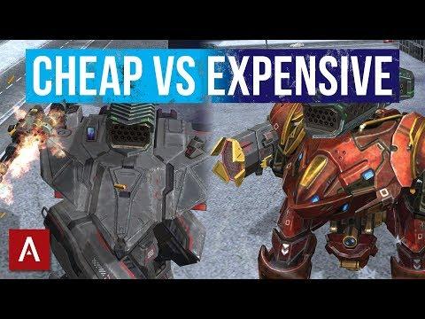 War Robots Android Gameplay  Cheap Hangar vs Expensive Bots  Gold League  WR