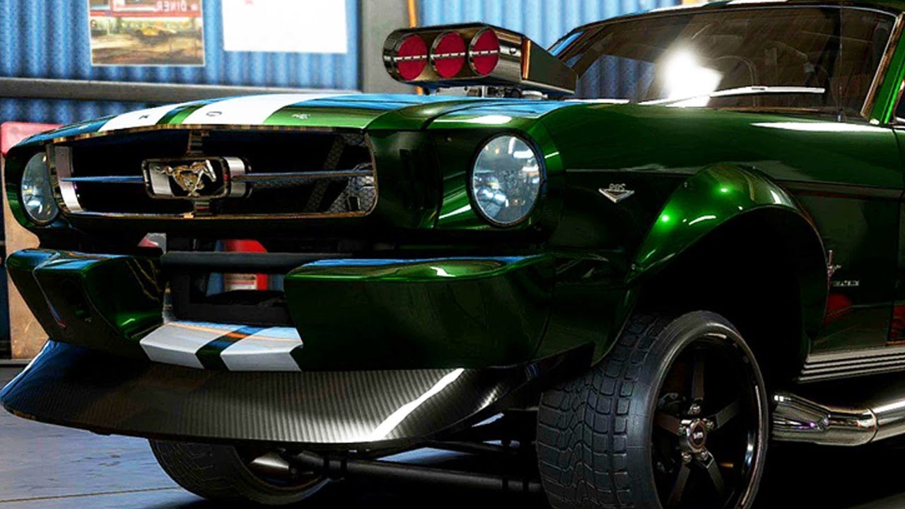 Super build 65 mustang derelict need for speed payback part 39