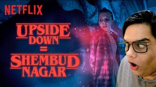 @Tanmay Bhat Reacts to Stranger Things | Hindi Dub | Netflix India