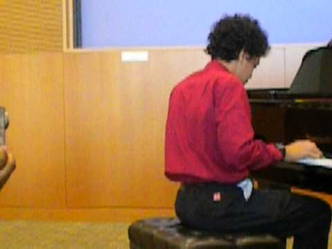 "Jasim Playing Billy Joel's ""Invention In C Minor"""