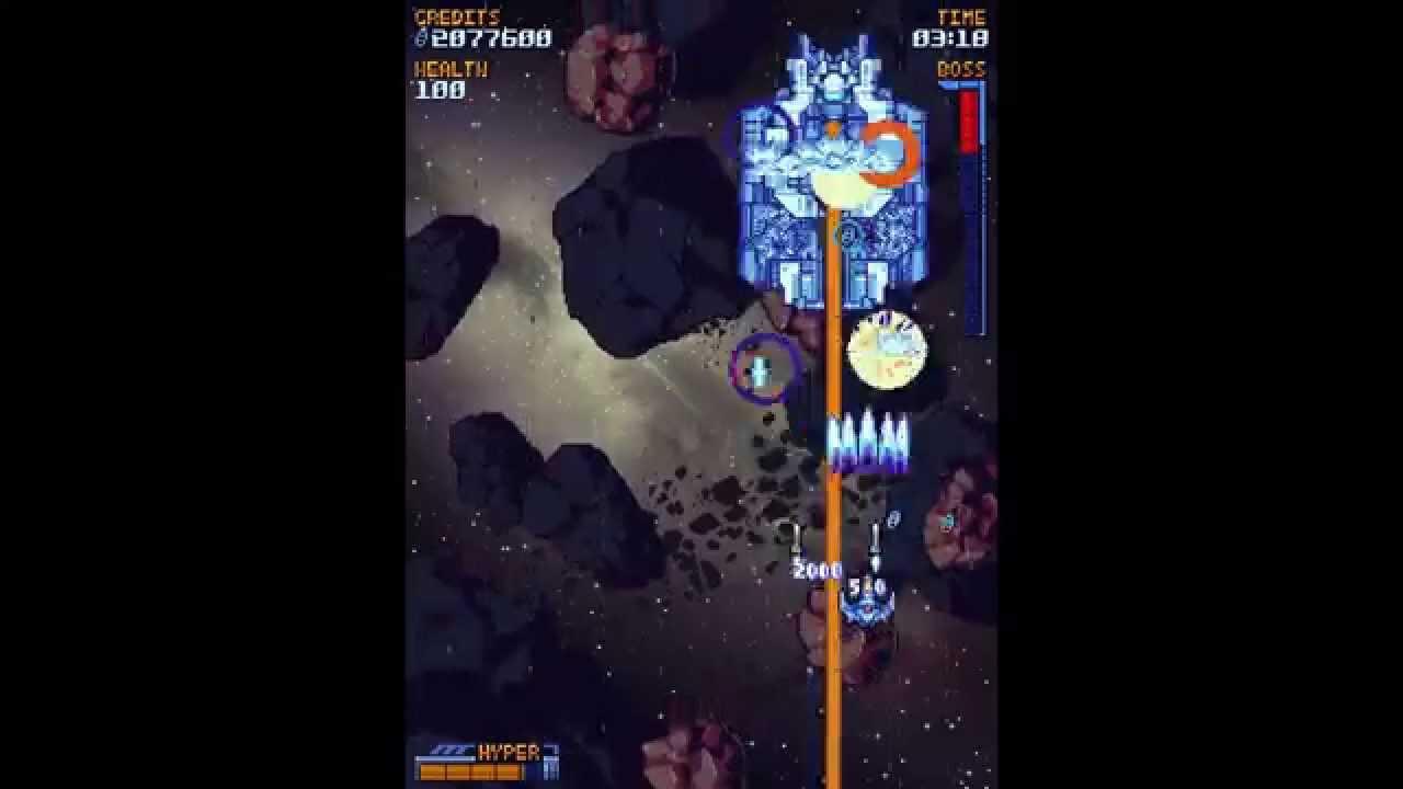 Super Galaxy Squadron - Stage 2
