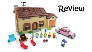 Lego Simpsons House Review (Set 71006)