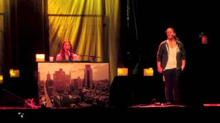 Sara Bareilles & Sarah Vanderzon (fan from audience) sing Fairytale in Toronto