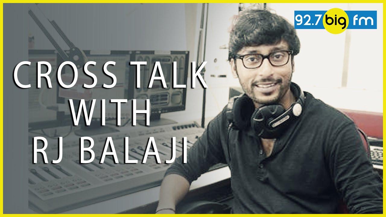 RJ Balaji | Cross Talk - YouTube