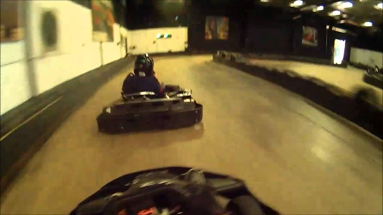 Fast laps at Top gear Karting
