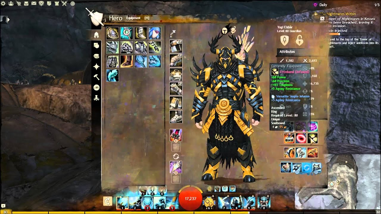 Guild Wars  Pvp Warrior Pvp Build