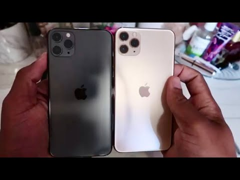 IPhone 11 Pro Max Unboxing And Color Comparison