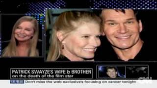 Patrick Swayze's Wife Lisa Niemi & Brother Donny Speak With Larry King