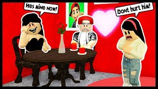 MY BOYFRIEND WENT ON A DATE WITH THE STALKER! - ROBLOX