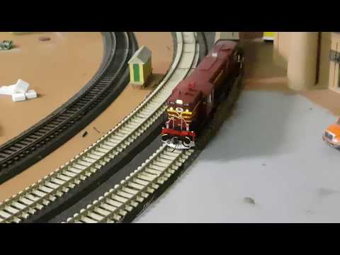 Auscision 45 class fitted with Tsunami 2 Sound chip Loco 4531