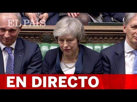 DIRECTO BREXIT | Declaración de MAY y debate en el PARLAMENTO
