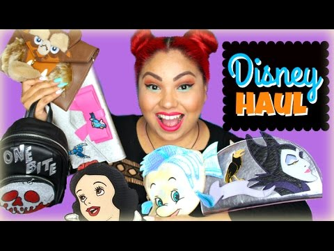975ef120779 Disney Danielle Nicole Handbag Haul - YouTube