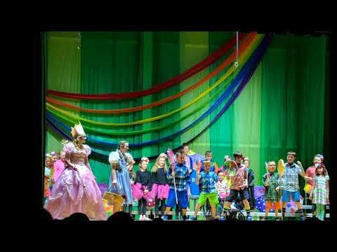 "2018 Lyme Central School ""Wizard of Oz Musical"" Munchkin Mayor Scene"