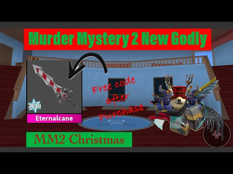 Roblox Murder Mystery 2 Mm2 Snowflake Godly Knife Read Desc - Roblox Murder Mystery 2 I Got Murderer 3 Times In Less Than 20