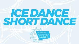 Ice Dance Short Dance 2015 ISU Grand Prix of Figure Skating Final Barcelona ESP GPFigure