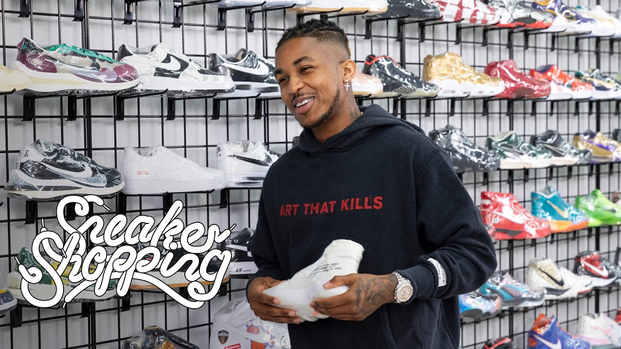 DDG Goes Sneaker Shopping With Complex