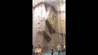 Indoor Rock Climbing At Adventure Rock In Milwaukee