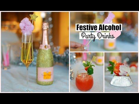 DIY Party Cocktails - Alcohol Cocktail Beverages Recipe MissLizHeart