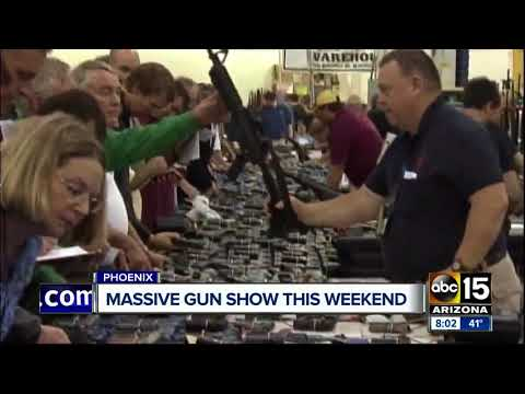 Massive gun show coming to the Valley
