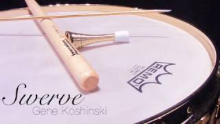 """Swerve"" for Solo Snare Drum by Gene Koshinski"