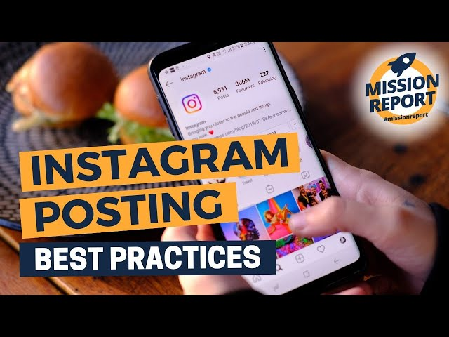 #missionreport - The best way to post on Instagram