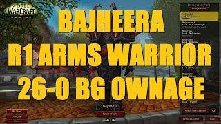 Bajheera - Rank 1 Arms Warrior 26-0