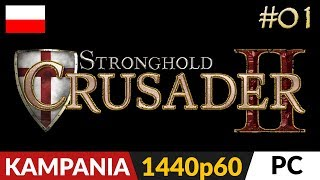 Twierdza Krzyżowiec 2  #1 (odc.1)  Kampania na hard | Stronghold Crusader 2 Gameplay po polsku