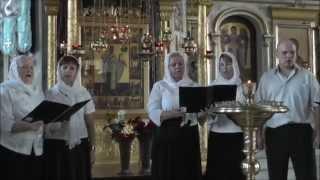 ХОР НИКОЛЬСКОГО ХРАМА. ЗАРАЙСК. Песнопения Русской Православной Церкви.(Видео Full HD.1).