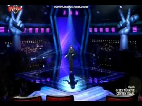 Ceyda Tezemir - O Ses Türkiye 2015 - Çeyrek Final