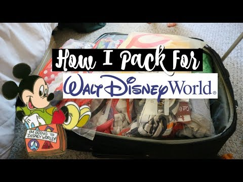 How I Pack For Disney World | Packing Tips