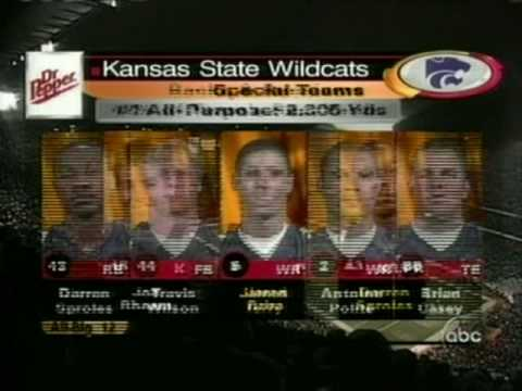 2003 Big 12 Championship: Kansas State Wildcats Vs Oklahoma Sooners (Part One)