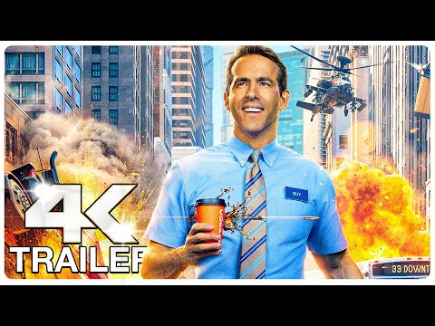 Download FREE GUY : 8 Minute Extended Trailer (4K ULTRA HD) NEW 2021