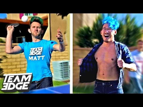 Thumbnail: PING PONG PAIN CHALLENGE ft. Markiplier/KidsWithProblems